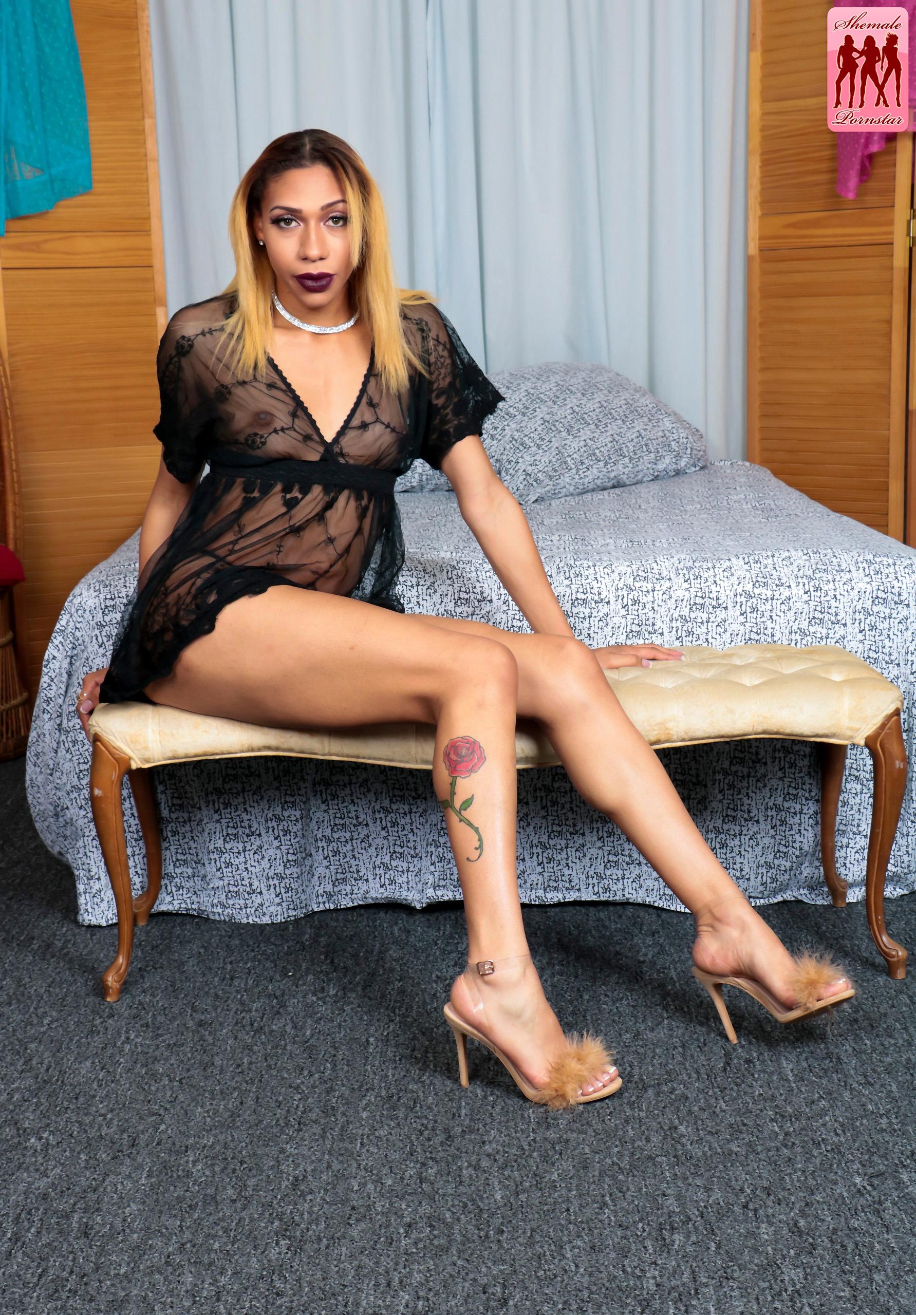 Alluring Transexual Natalia Desires