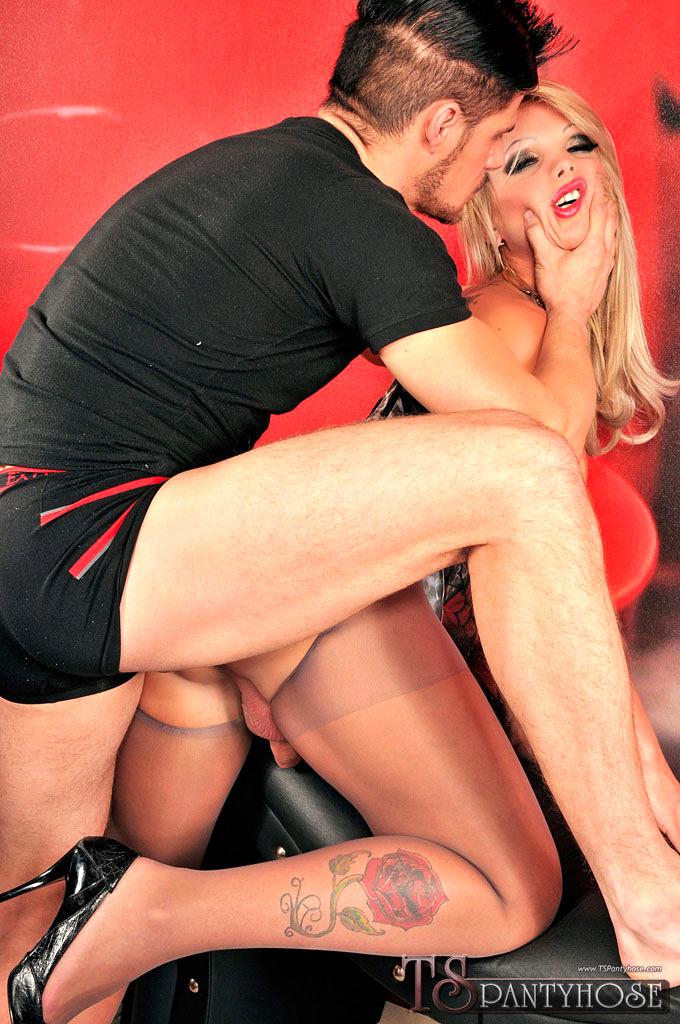Carla Novaes Gets Banged In Pantyhose