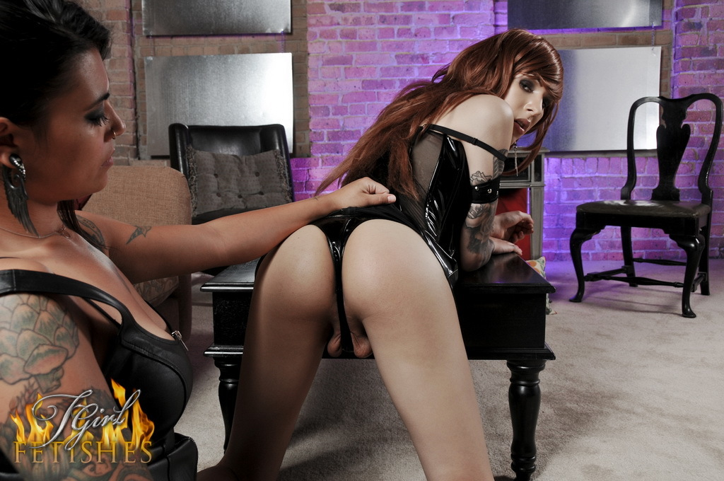 Nice Transexual Ryder Gets Bound, Tittytortured And Toyed