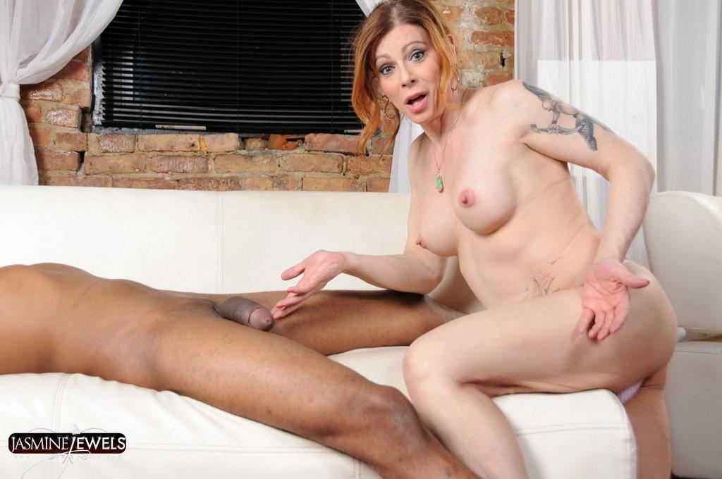 Sensual Jasmine Natalia Giving A A Blowjob