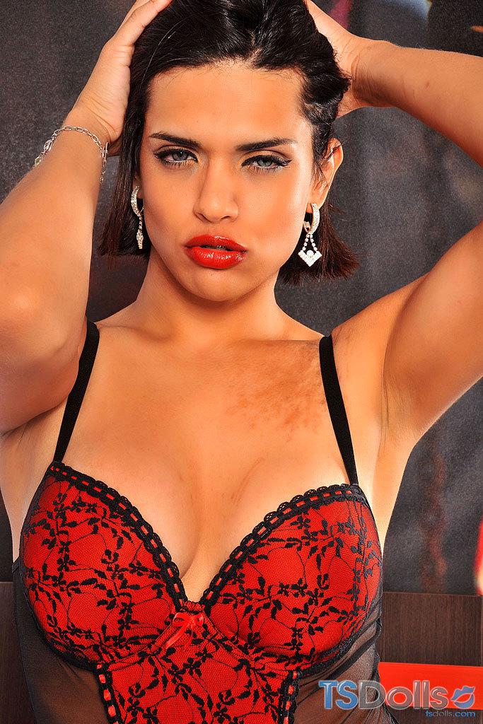Thayna Louzada In Titillating Red Panties